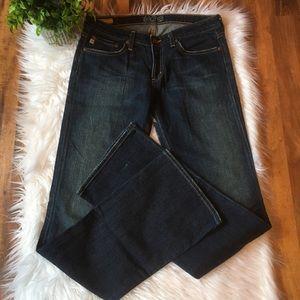 ⭐️Big Star Mia darkwash boot cut jeans 28